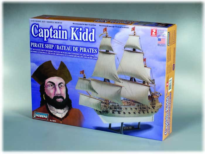 Model Statek piracki Captain Kidd