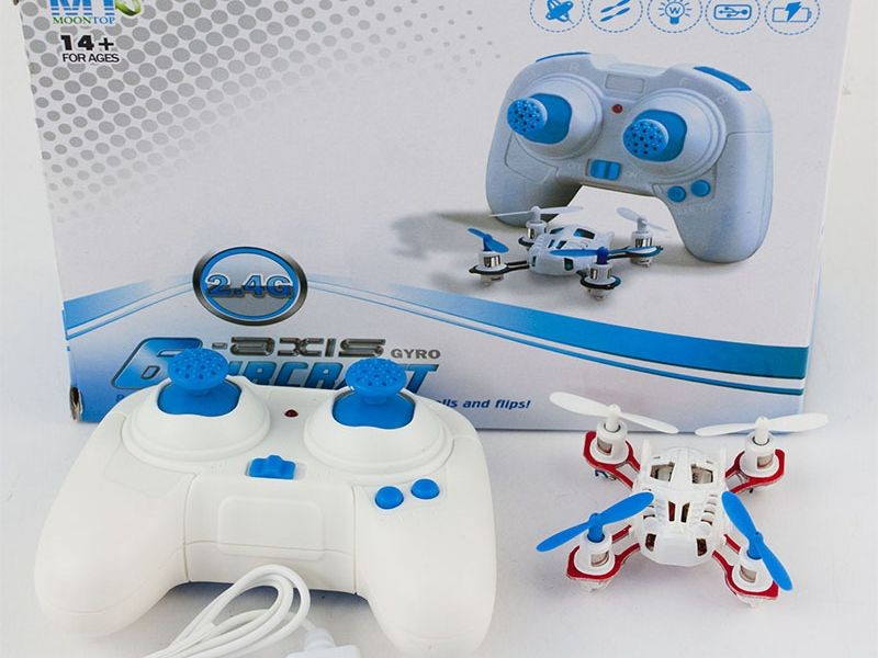 Mini Dron Nano Quadrocopter Aircraft
