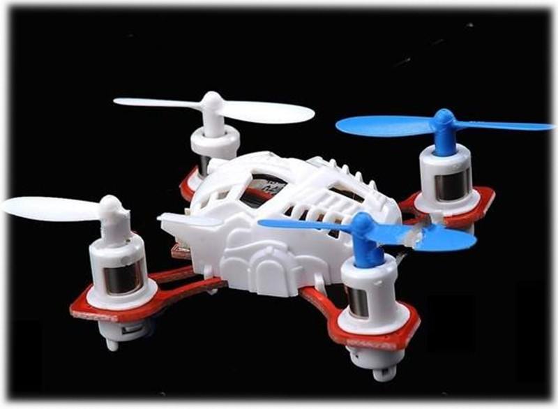 Mini Dron Nano Quadrocopter Aircraft Gyro 4CH
